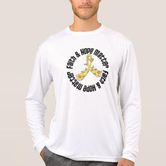 Neuroblastoma Faith and Hope Matter Tshirt