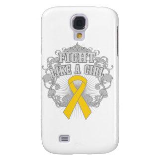 Neuroblastoma Fight Like A Girl Fleurish Galaxy S4 Covers