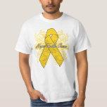 Neuroblastoma Flourish Hope Faith Cure T Shirts