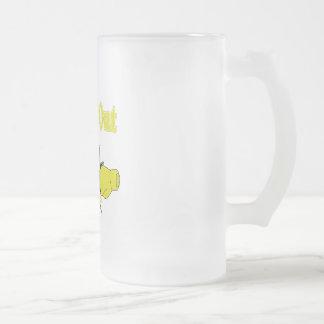 Neuroblastoma Frosted Glass Beer Mug