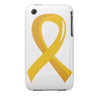 Neuroblastoma Gold Ribbon 3 iPhone 3 Cover