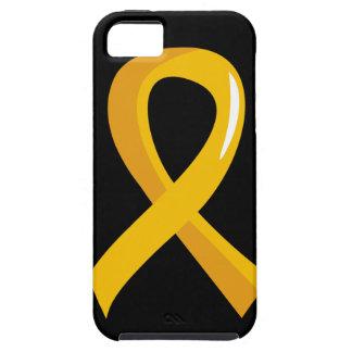 Neuroblastoma Gold Ribbon 3 iPhone SE/5/5s Case