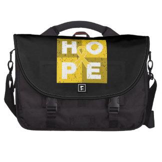 Neuroblastoma HOPE Cube Laptop Messenger Bag