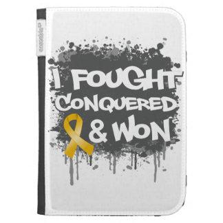 Neuroblastoma I Fought Conquered Won Kindle 3 Covers
