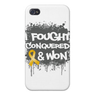 Neuroblastoma I Fought Conquered Won iPhone 4/4S Case