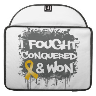 Neuroblastoma I Fought Conquered Won Sleeves For MacBooks