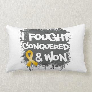 Neuroblastoma I Fought Conquered Won Pillow