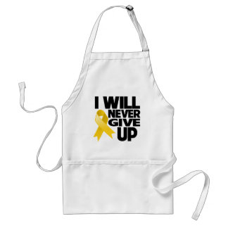 Neuroblastoma I Will Never Give Up Adult Apron