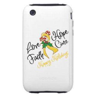 Neuroblastoma Love Hope Holidays iPhone 3 Tough Cover