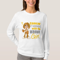 Neuroblastoma Messed With Wrong Girl.png T-Shirt