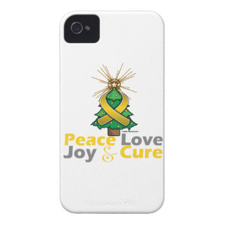 Neuroblastoma Peace Love Joy Cure Blackberry Case