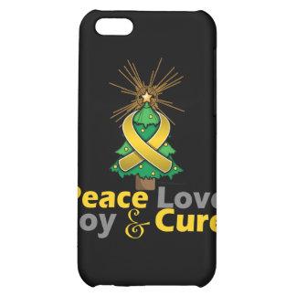 Neuroblastoma Peace Love Joy Cure iPhone 5C Case