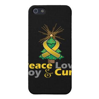 Neuroblastoma Peace Love Joy Cure Cover For iPhone 5