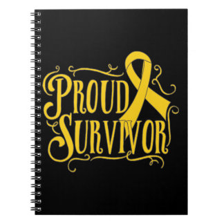 Neuroblastoma Proud Survivor Notebook