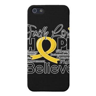 Neuroblastoma Typographic Faith Love Hope Case For iPhone 5