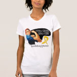 Neuroblastoma We Can Do It Rosie The Riveter T Shirts