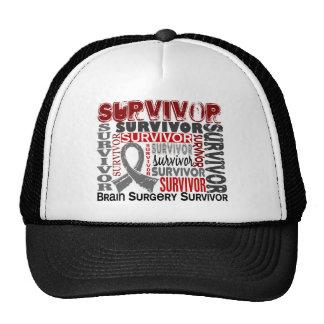 Neurocirugía del superviviente 10 gorras de camionero