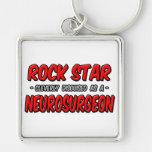Neurocirujano de la estrella del rock… llaveros