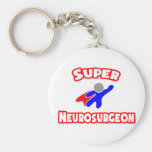 Neurocirujano estupendo llaveros personalizados