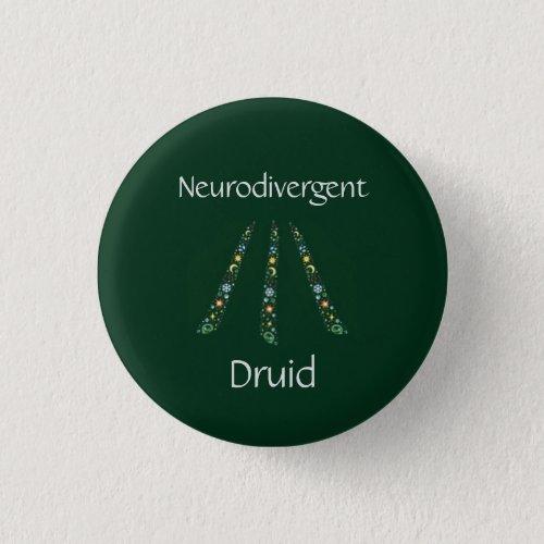 Neurodivergent Druid Button