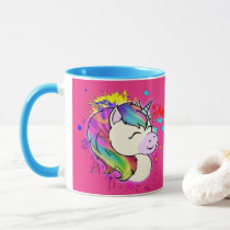 Neurodivergent Rebel Unicorn Coffee Mug