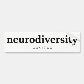 Neurodiversity Bumper Sticker