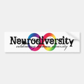 Neurodiversity bumper sticker car bumper sticker