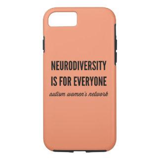 Neurodiversity es para cada uno caso funda iPhone 7