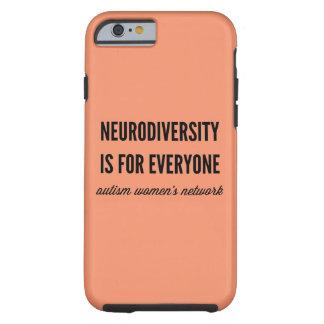 Neurodiversity es para cada uno caso funda resistente iPhone 6