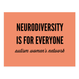 Neurodiversity is for Everyone Postcard