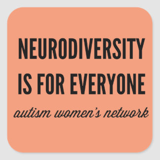 Neurodiversity is for Everyone Stickers
