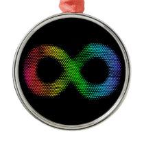 Neurodiversity Metal Ornament