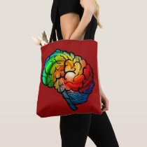 Neurodiversity Pride Rainbow Brain Bag