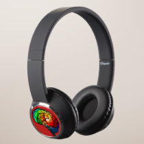 Neurodiversity Pride Rainbow Brain Headphones