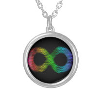 Neurodiversity Silver Plated Necklace