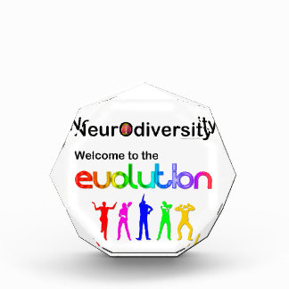 Neurodiversity Welcome to the Evolution Acrylic Award