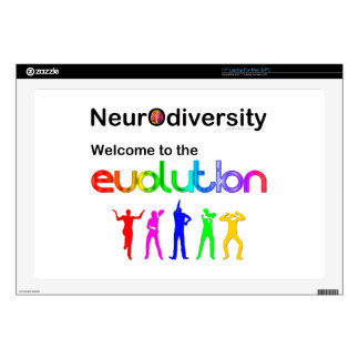 Neurodiversity Welcome to the Evolution Laptop Decal