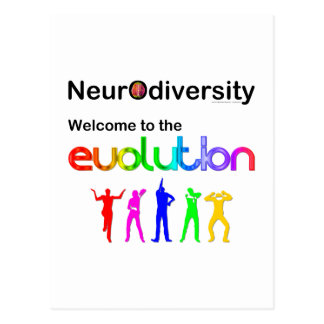 Neurodiversity Welcome to the Evolution Postcard