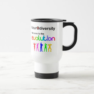 Neurodiversity Welcome to the Evolution Travel Mug
