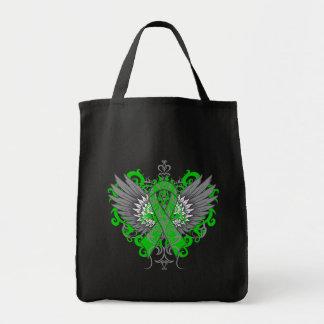 Neurofibromatosis Awareness Cool Wings Canvas Bags