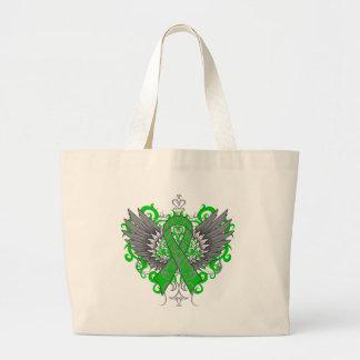 Neurofibromatosis Awareness Cool Wings Canvas Bag