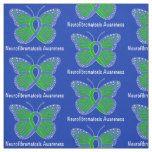 Neurofibromatosis Butterfly Awareness Ribbon Fabric