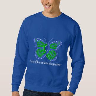 Neurofibromatosis Butterfly Awareness Ribbon Sweatshirt