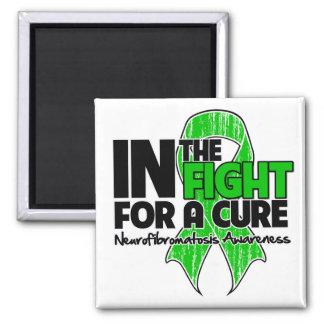 Neurofibromatosis en la lucha para una curación imán para frigorífico