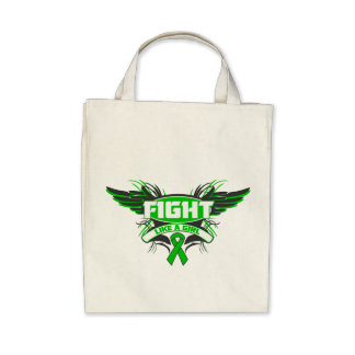 Neurofibromatosis Fight Like a Girl Wings.png Tote Bag