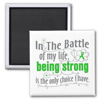 Neurofibromatosis In the Battle 2 Inch Square Magnet