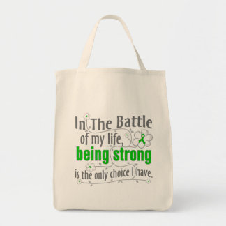 Neurofibromatosis In the Battle Grocery Tote Bag