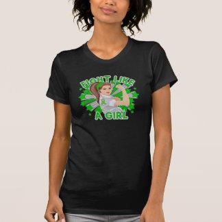 Neurofibromatosis Modern Rosie Fight Like a Girl T-shirts