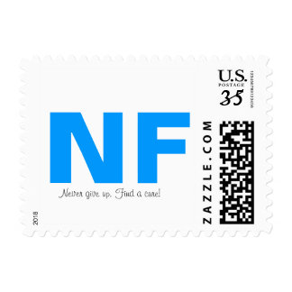 Neurofibromatosis never give up stamp