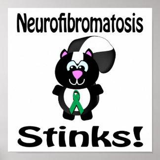 Neurofibromatosis Stinks Skunk Awareness Design Poster